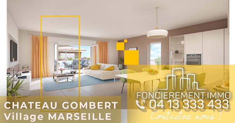 Village Chateau Gombert Immobilier Neuf